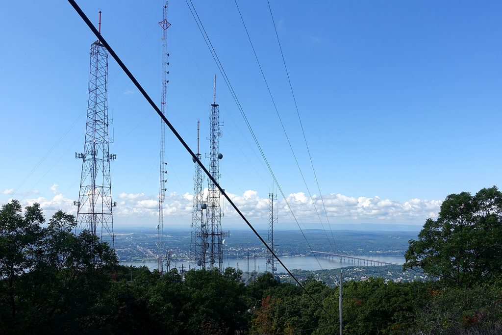 Mt Beacon Antennas and View